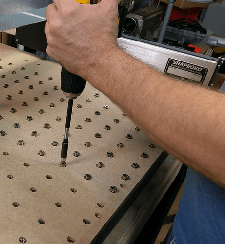 Xl And Xxl Threaded Insert Table Grid And Clamps