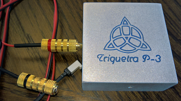 Triquetra 3-Axis Touch Plate wired for Shapeoko
