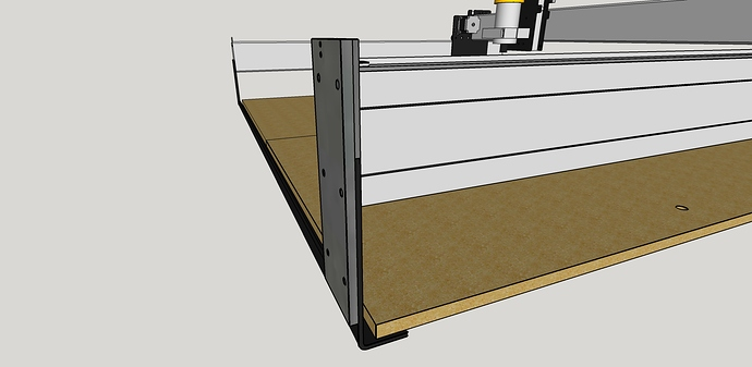 Shapeoko Z extension plate