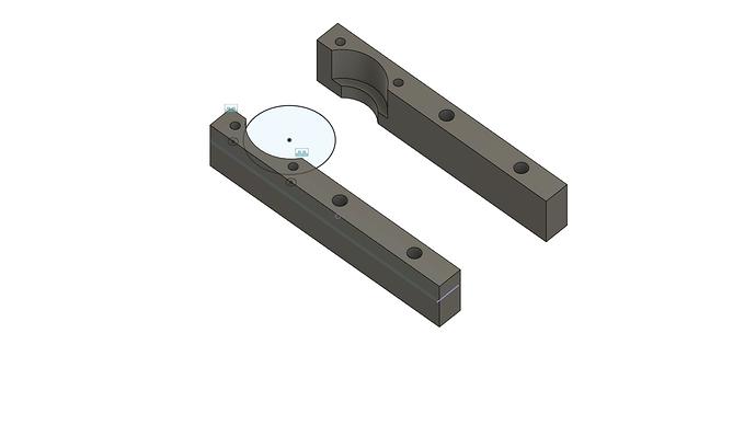 Fixed ballscrew support v19