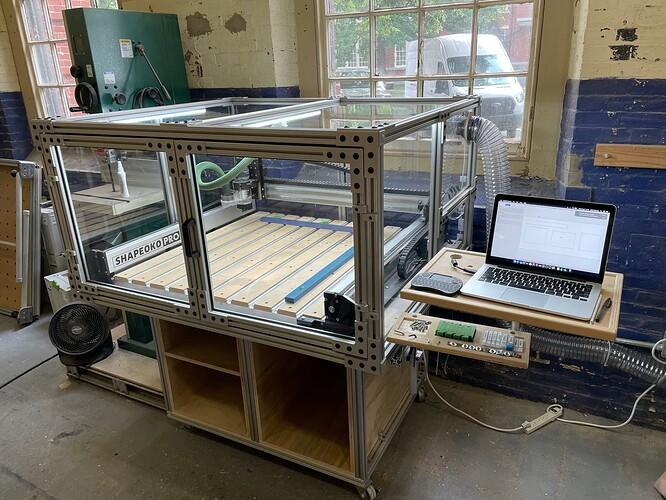 CNC enclosure 3