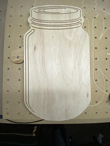Large Mason Jar Plain