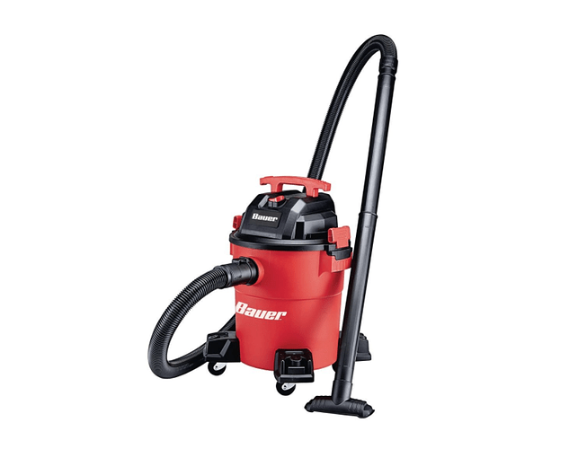 Bauer 6 Gallon 4 Peak Horsepower Wet Dry Vacuum