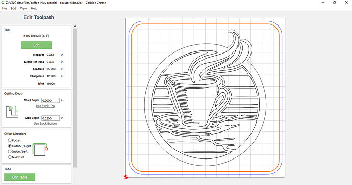 step 3 cutout