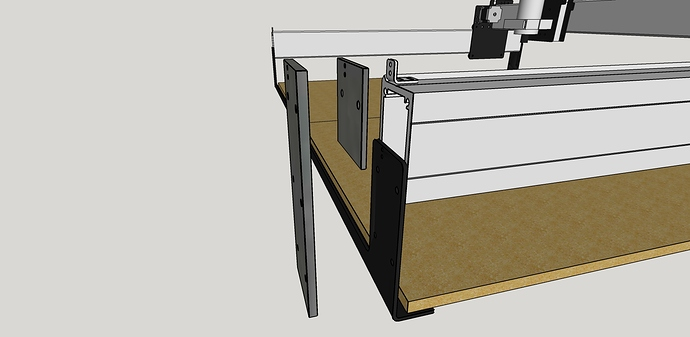 Shapeoko Z extension plate2