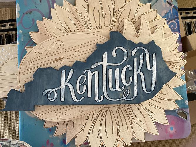 Kentucky-Worn Navy Stain