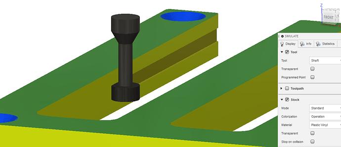 keyseat simulation