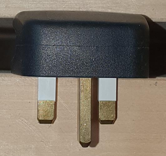 UK plug top