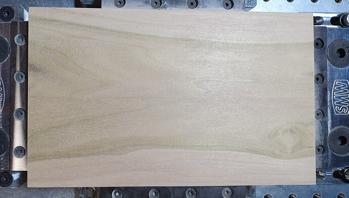 poplar wood prepped
