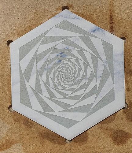 Laser ceramic