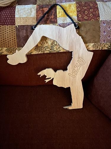 Silhouette-Back Handspring