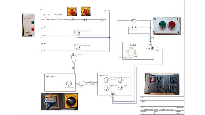 Shapeoko wiring