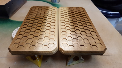 Honeycomb Gift Box Lids