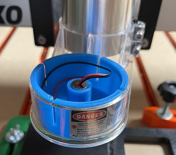 shapeoko laser holder 3