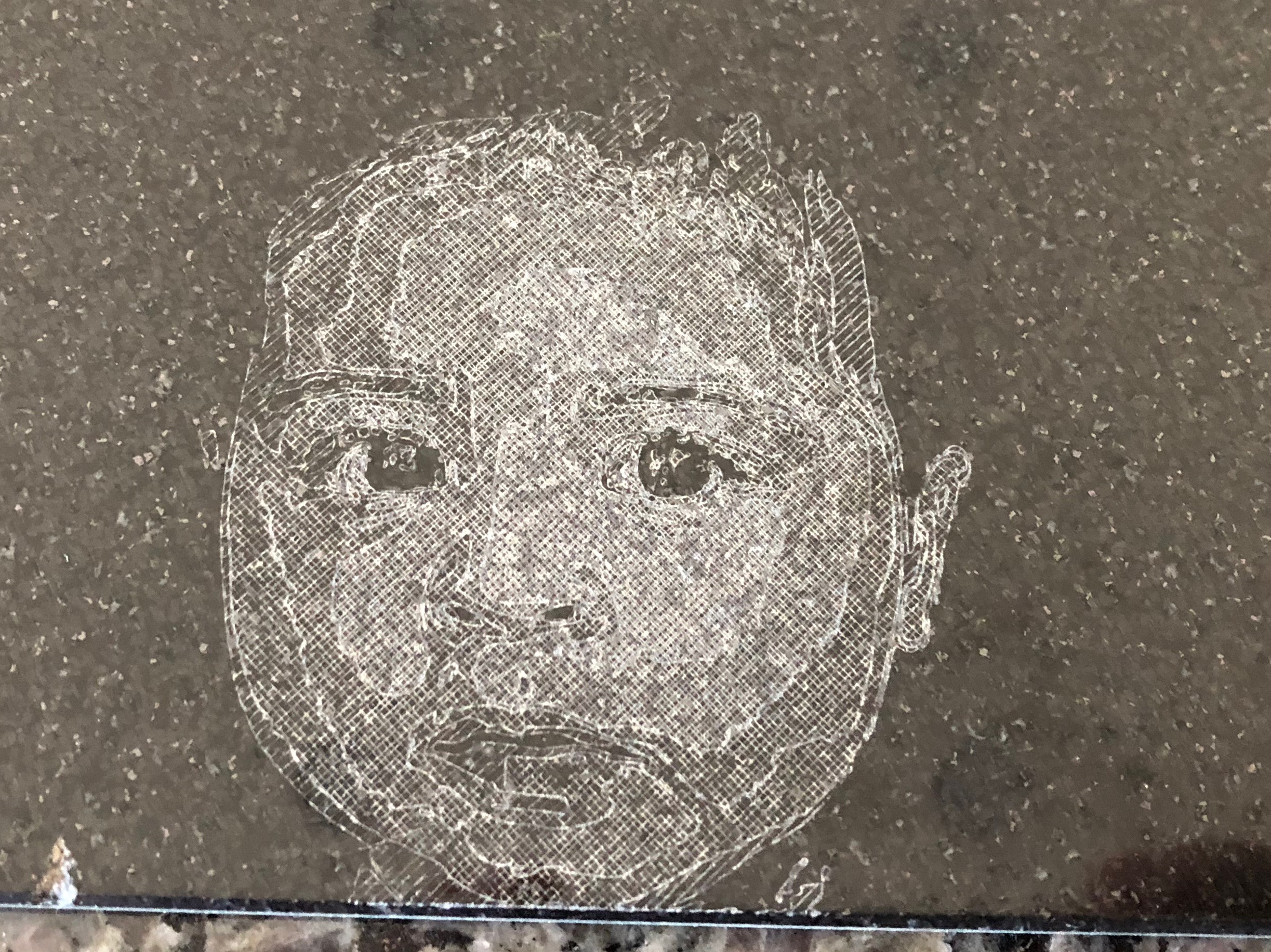 Engraving a picture in granite? - Shapeoko - Carbide 3D