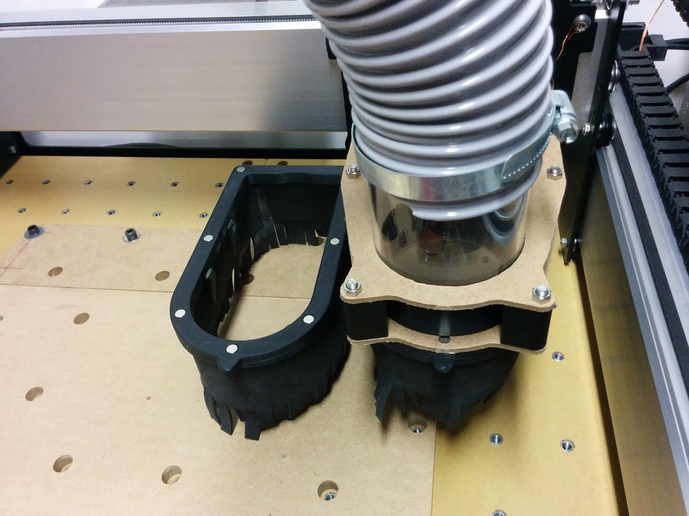 CLEAR ACRYLIC DUST BOOT FOR SHAPEOKO