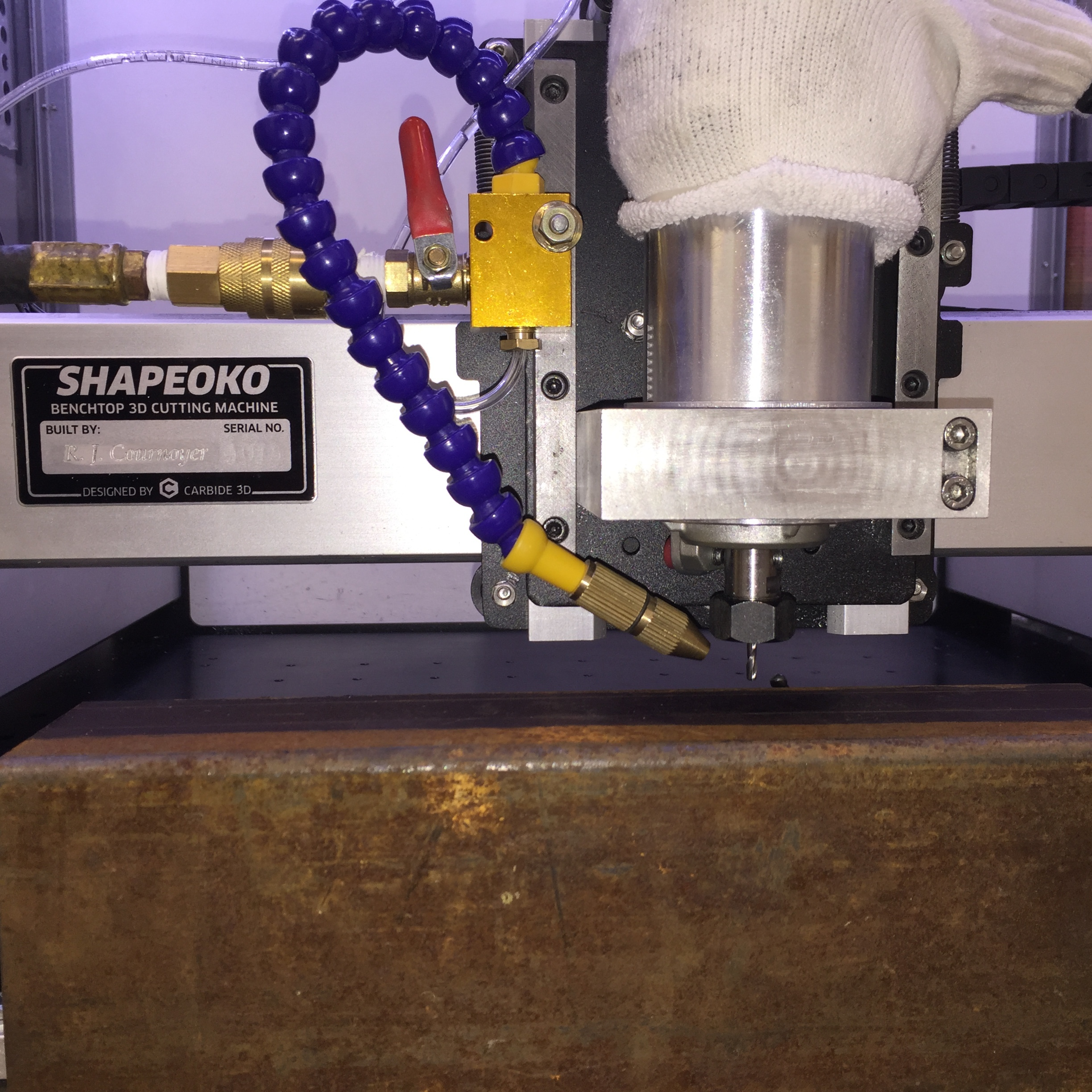 Machining STEEL in the Shapeoko 3 (Simple Part) - Gallery - Carbide