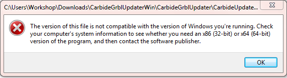 Upgrading to Grbl 1 1 on windows x86 - Shapeoko - Carbide 3D