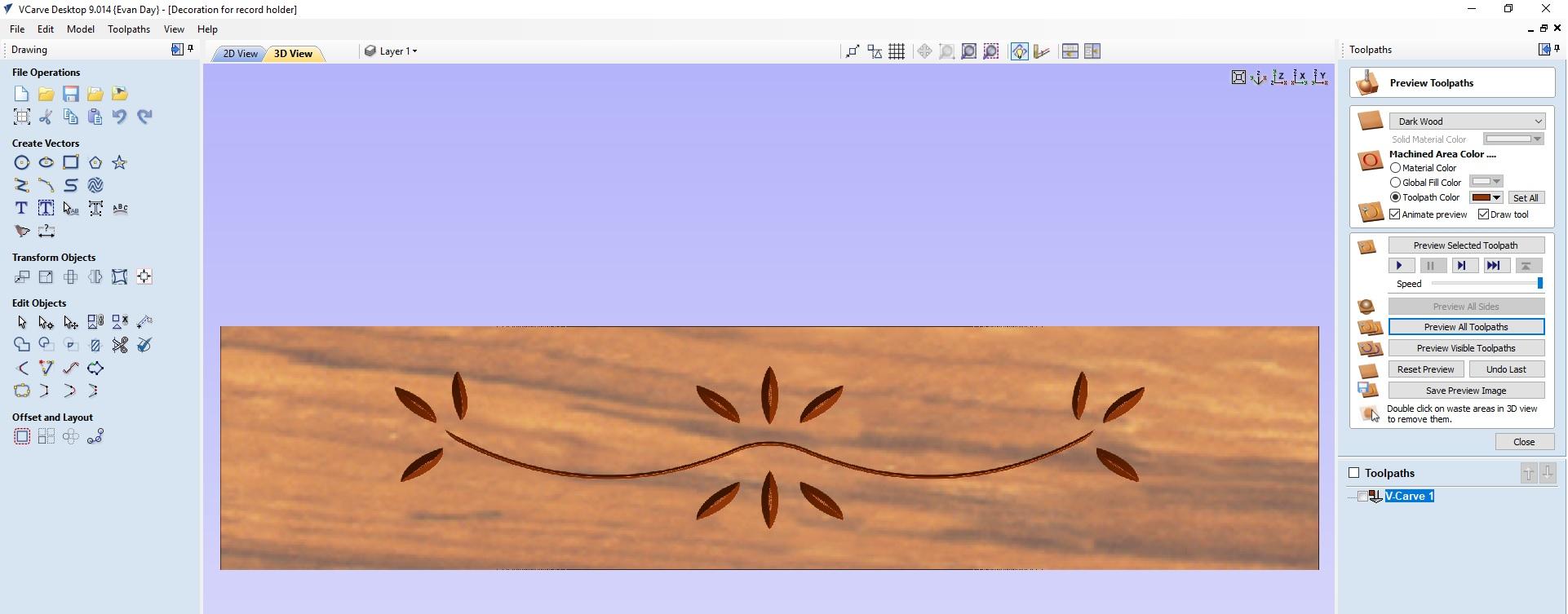 VCarve Tiling on Regular Size SO3 - Shapeoko - Carbide 3D