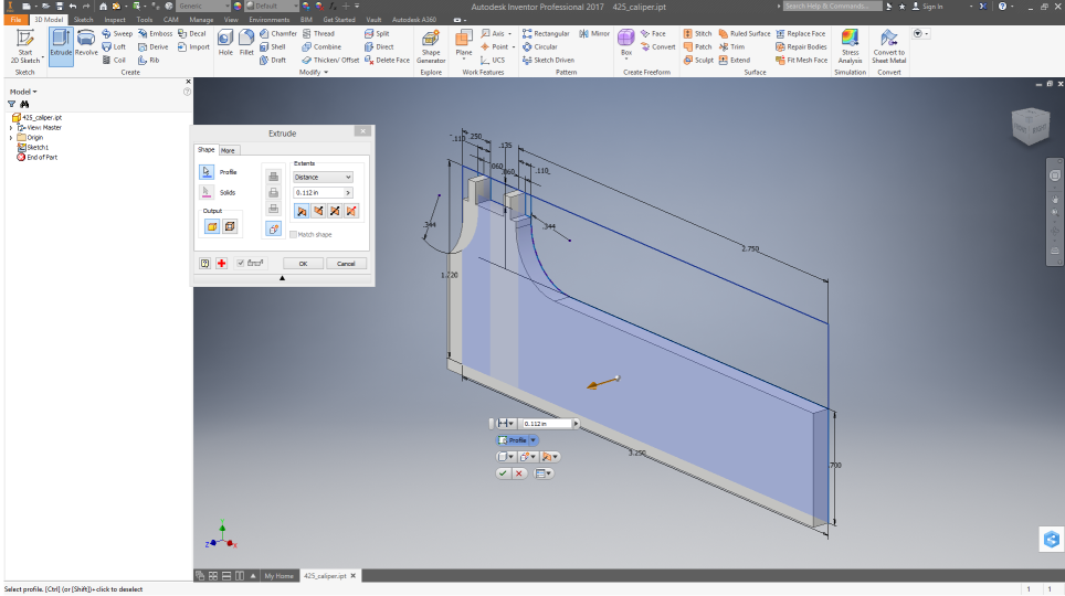 Making a fitted case for a tool - Tutorials - Carbide 3D