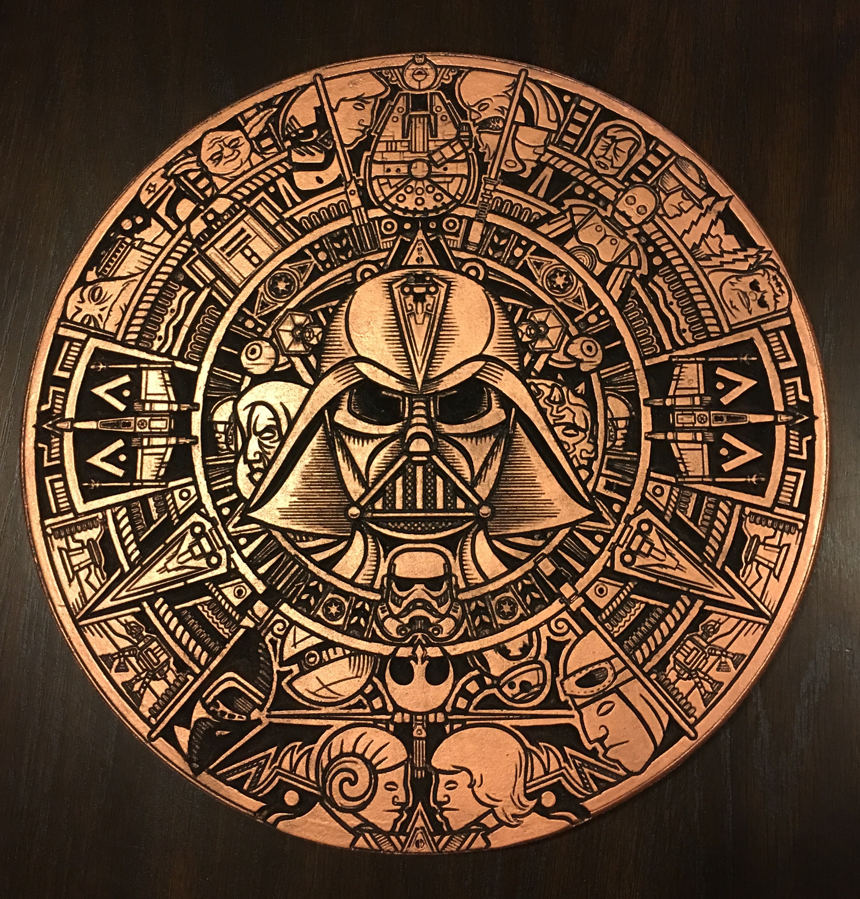 star wars aztec calendar gallery carbide 3d community site