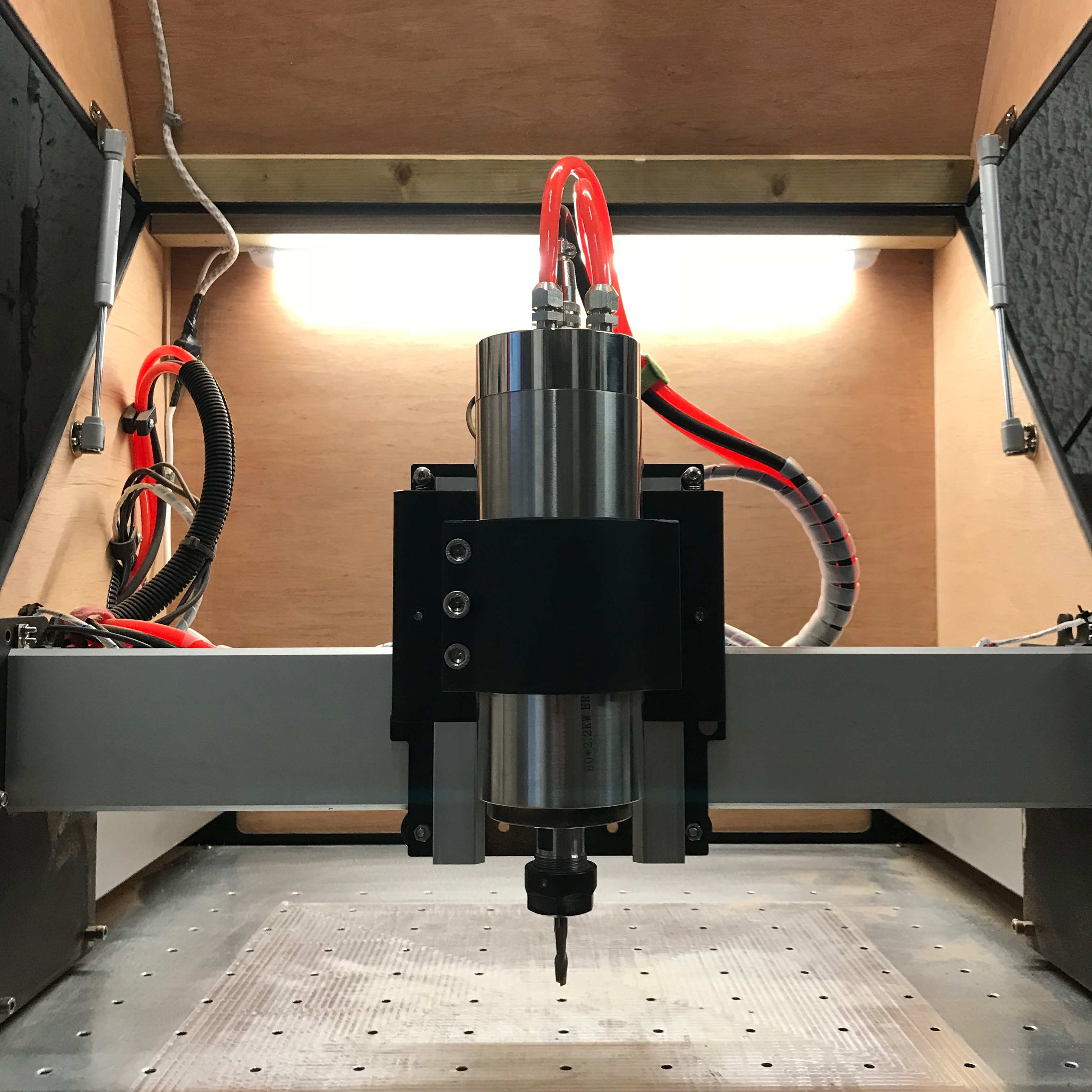 Instructions For Fitting A 2 2kw  Or Other Power Spindle