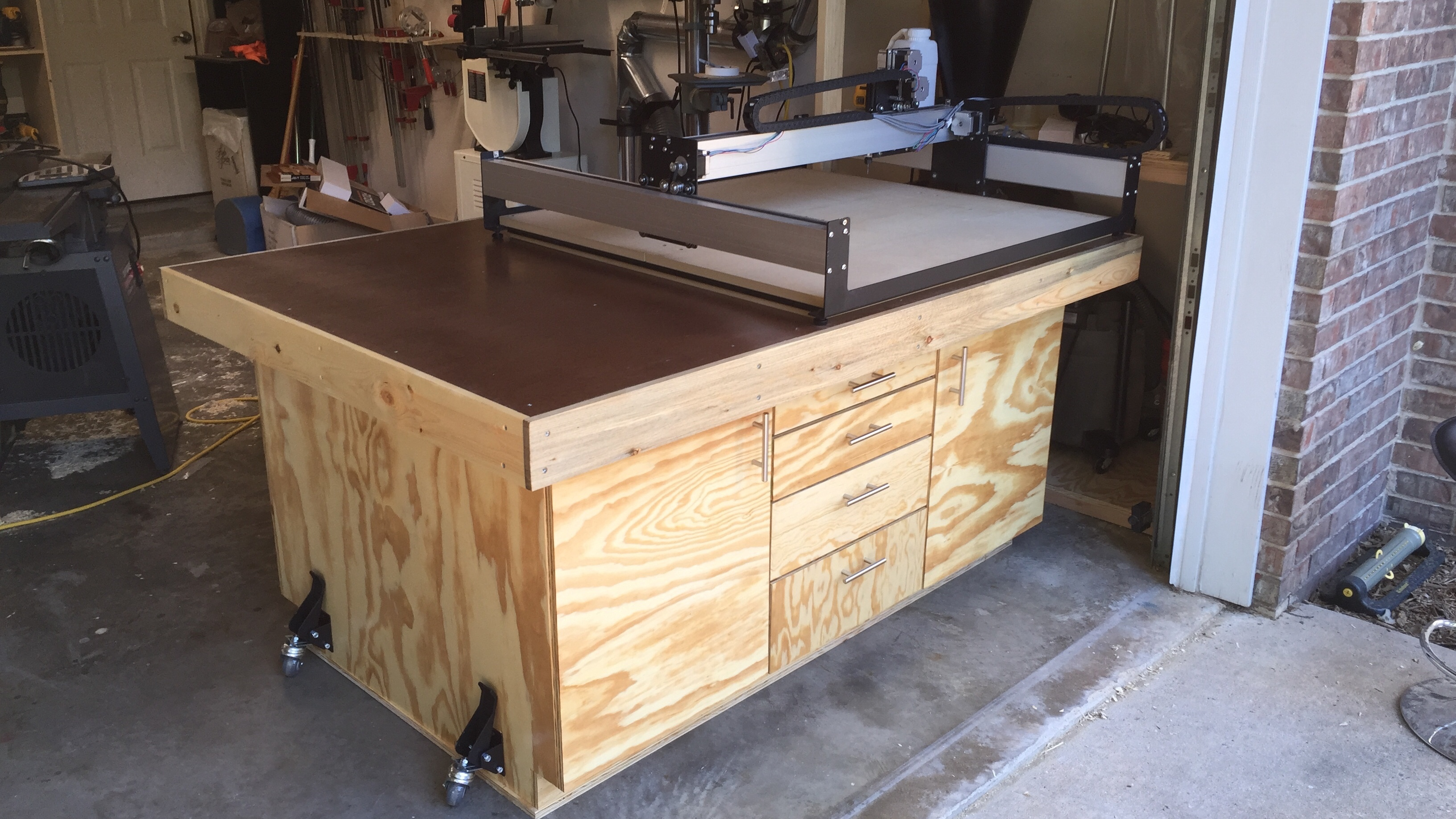 IMG 0257 JPG3264x1836 1 63 MB. CNC Table Top   Workbench   Back to Work to REST   Carbide 3D