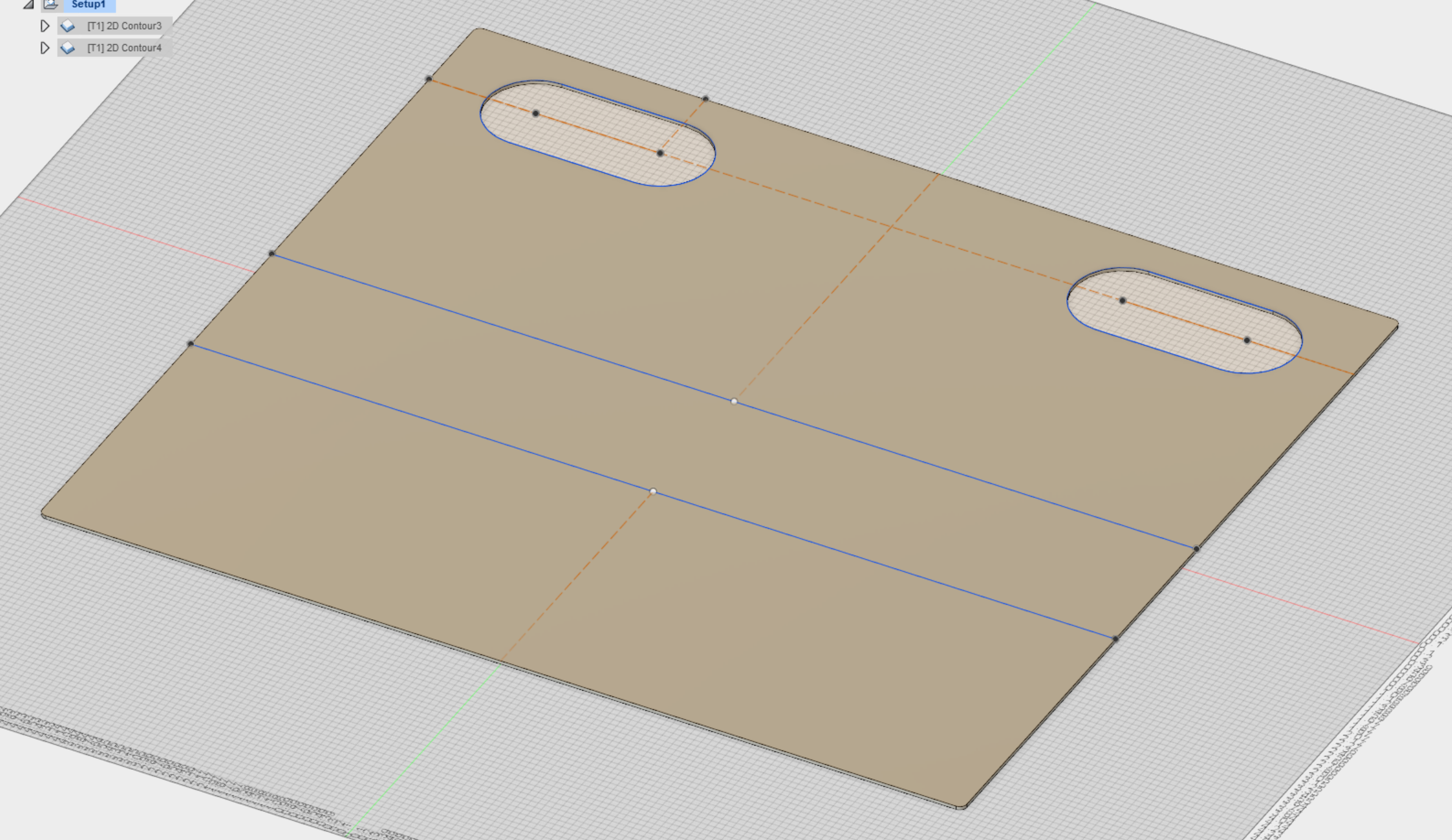 Etch in a straight line with V-Carve / Fusion 360 - Unsupported