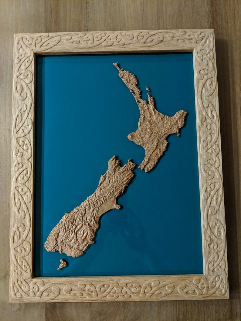 3d Map Of New Zealand.New Zealand Map Gallery Carbide 3d Community Site