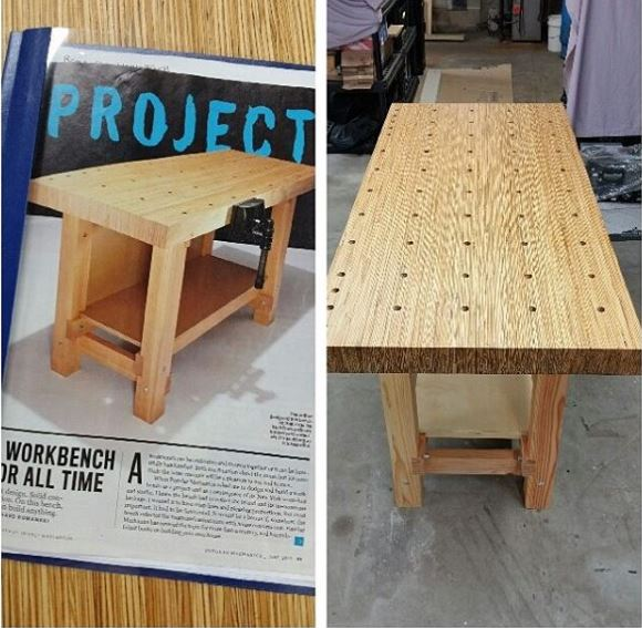 Curious What Other Folks Are Using For Workbenches Carbide D - Popular mechanics picnic table
