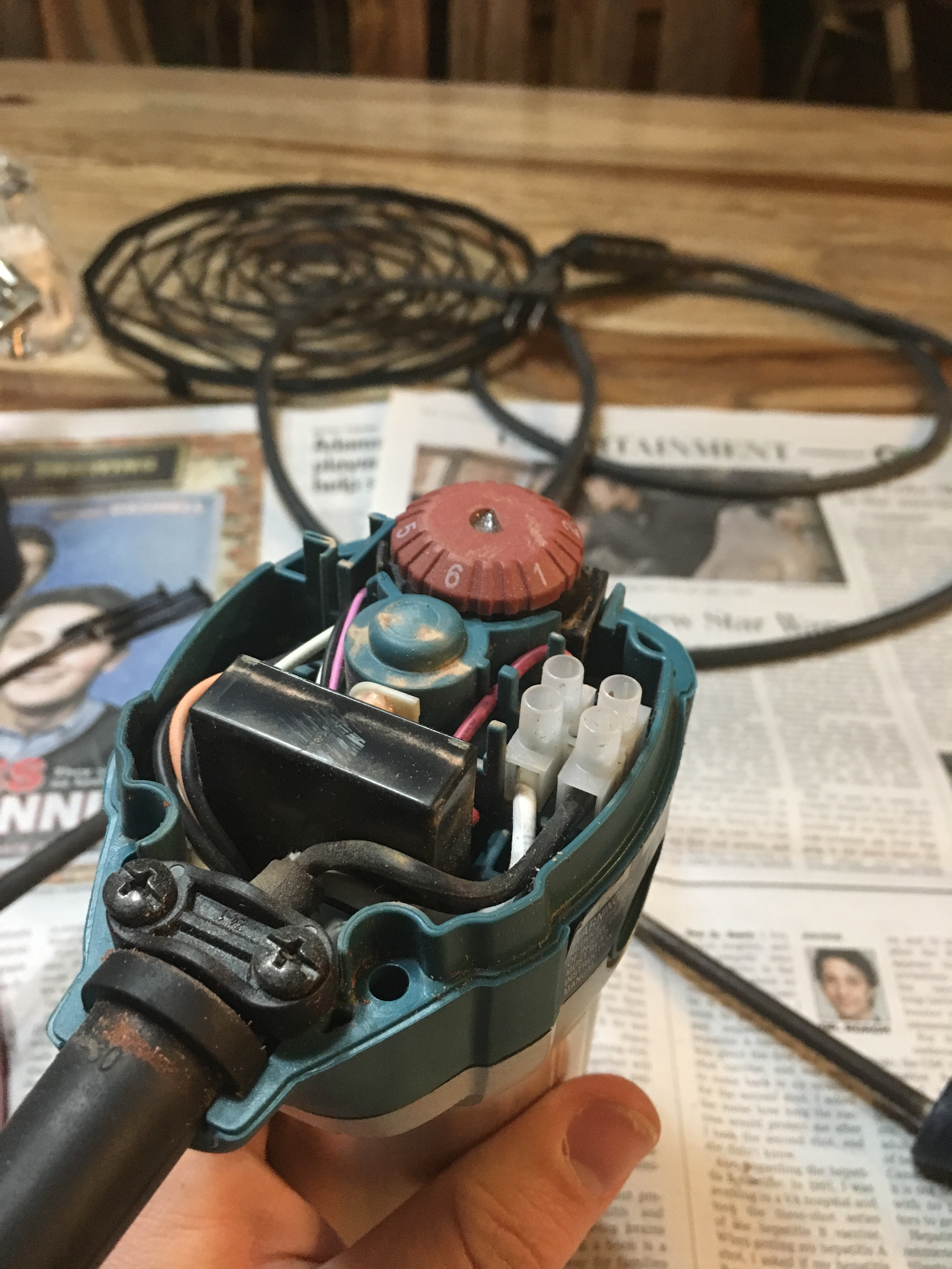 Makita Router - adding a three prong plug - How To - Carbide ... on