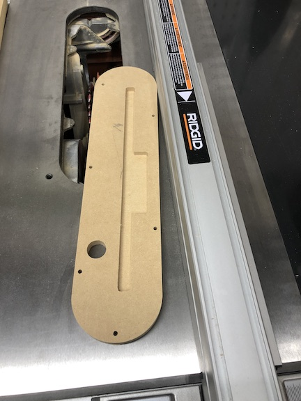 Table Saw Insert