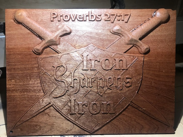 CNC Iron Sharpens Iron